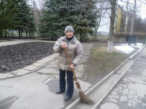 Балашова Людмила Іванівна - двірник