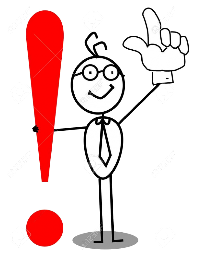 12053673-Business-Attention-exclamation-mark-with-up-hand--Stock-Vector-punctuation